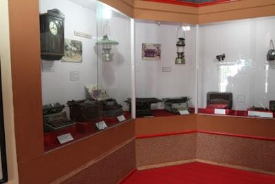 typewriter collections, Wasaka Museum Banjarmasin South Kalimantan, Waja sampai kaputing