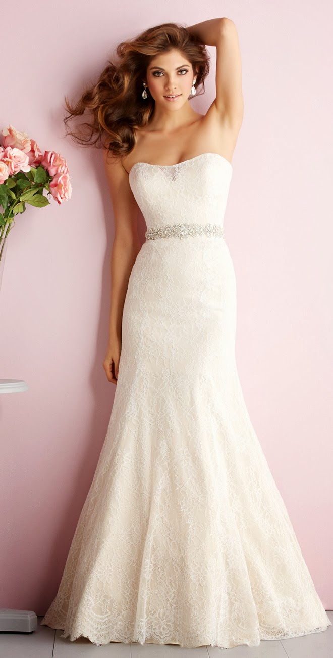 Allure romance spring 2014 bridal collection the wedding for Allure romance wedding dress