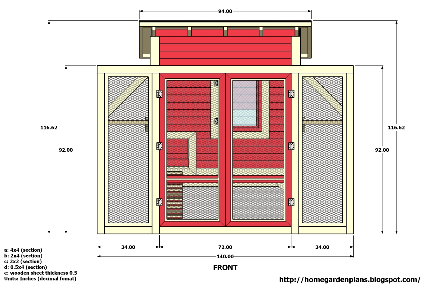 Denny yam plans chicken coop diy for Free chicken coop designs plans