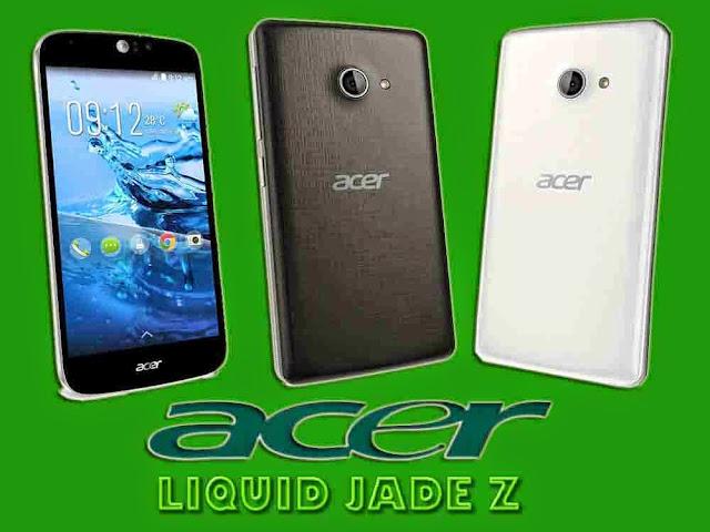 Acer Liquid Jade Z Tampilan Dengan Sudut Lengkung di Sisinya