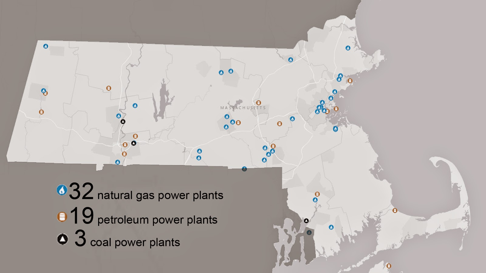 Reducing Power Plant Emissions USGBC Massachusetts Chapter - Us energy mapping system