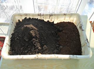 Готовлю грунт под баклажаны