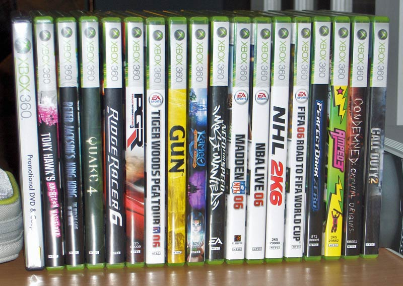 Games on xbox 360