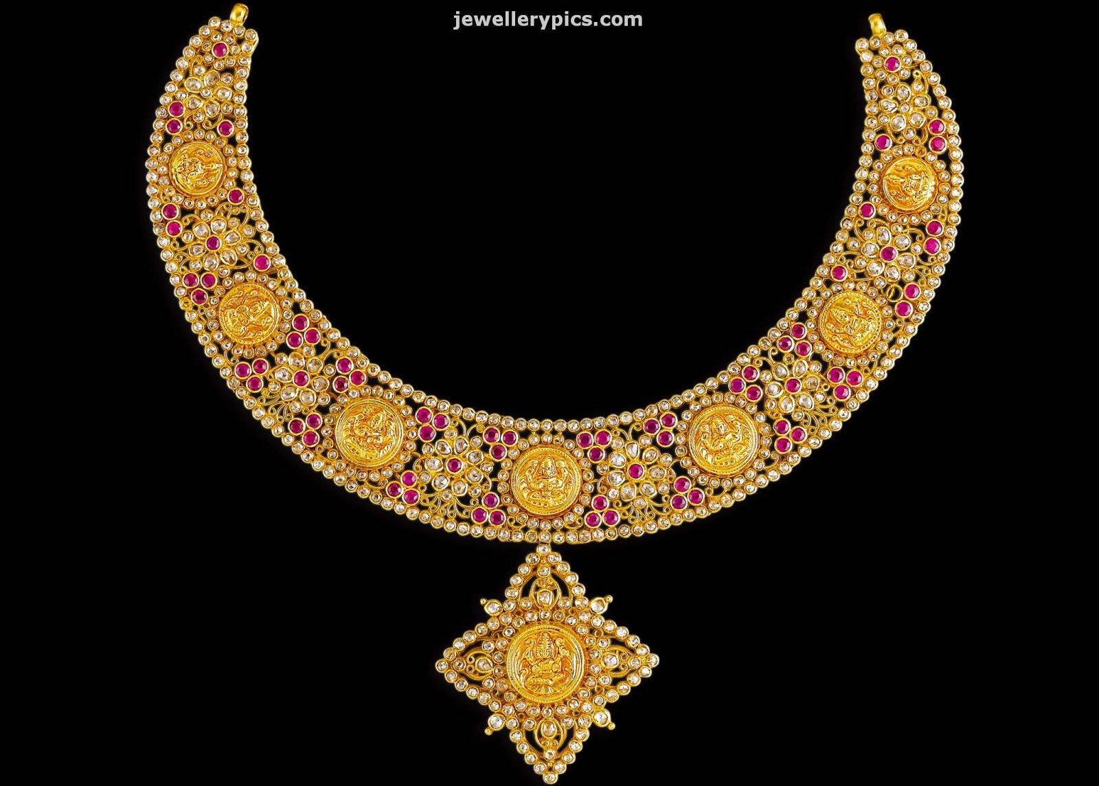 Gold Gold Jewellery Designs Kalyan