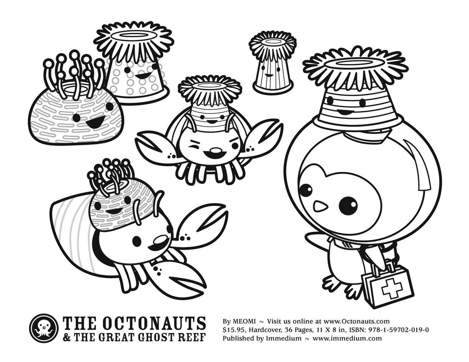 Excepcional Libro De Colorear Octonautas Cresta - Dibujos Para ...