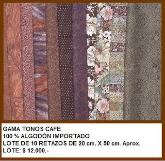 Retacitos Tonos Café