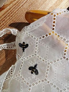 The Cat And The Bee Ebay Cynthia Rowley Honeycomb Bee Silk Blouse