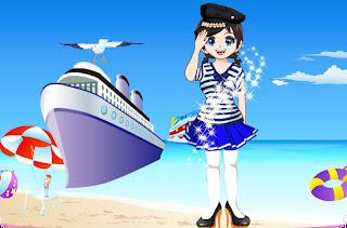 Juego de moda de chicas: moda marinera