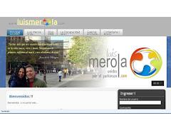 La pagina Web de Luis Meerola