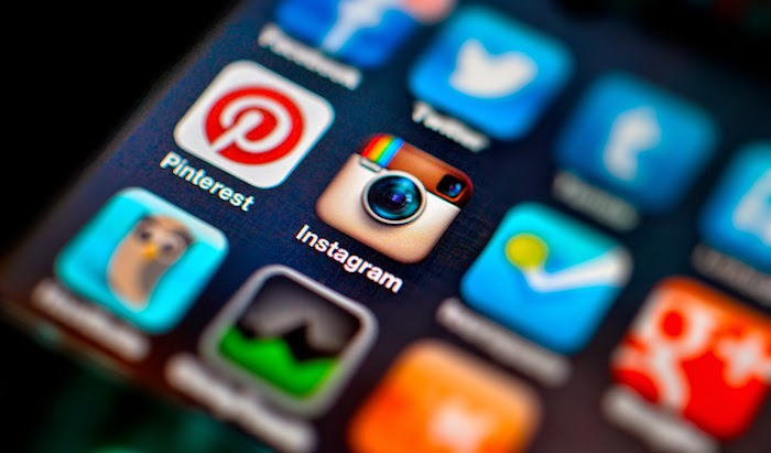 come usare Instagram e Pinterest