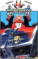 ロボット要塞X パッケージイラスト タカラ ダイアクロン トランスフォーマー Diaclone Takara Robot Fortress X