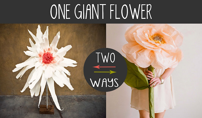 DIY: Giant Flowers title=