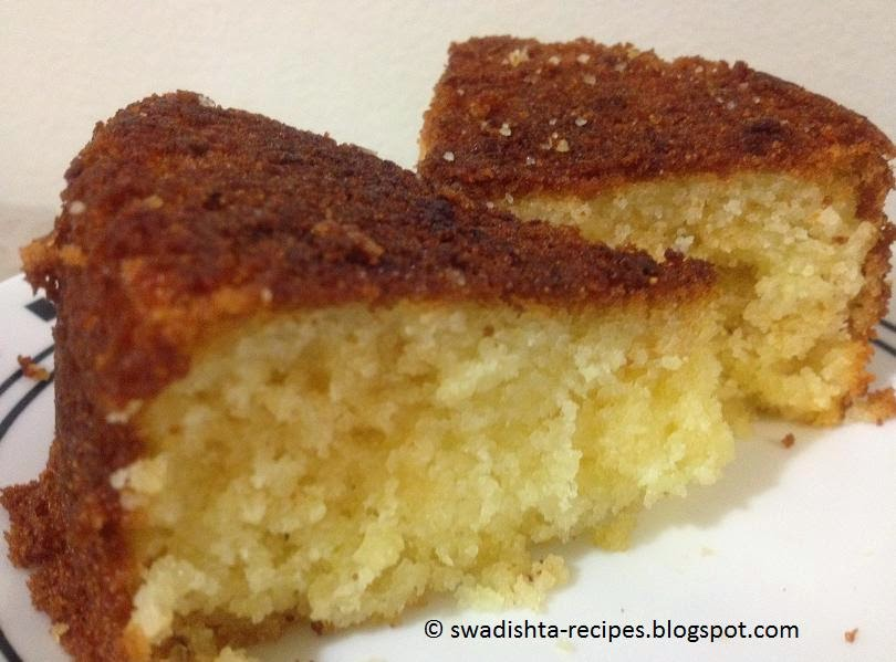 Suji Cake Recipe In Cooker