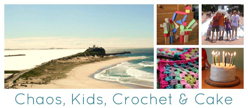 Chaos, Kids, Crochet and Cake