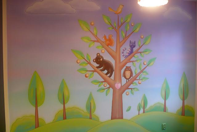 pokój dziewczynki inspiracja, Toruń malarstwo ścienne