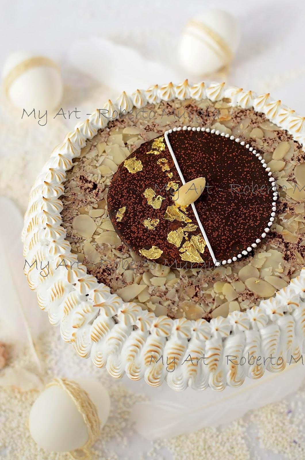 My Art Roberto Murgia Torta Di Mandorle E Cioccolato