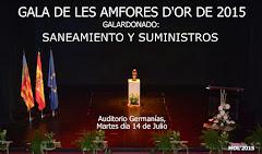 14.07.15 AMFORA D'OR A SANEAMIENTO Y SUMINISTROS DE MANISES