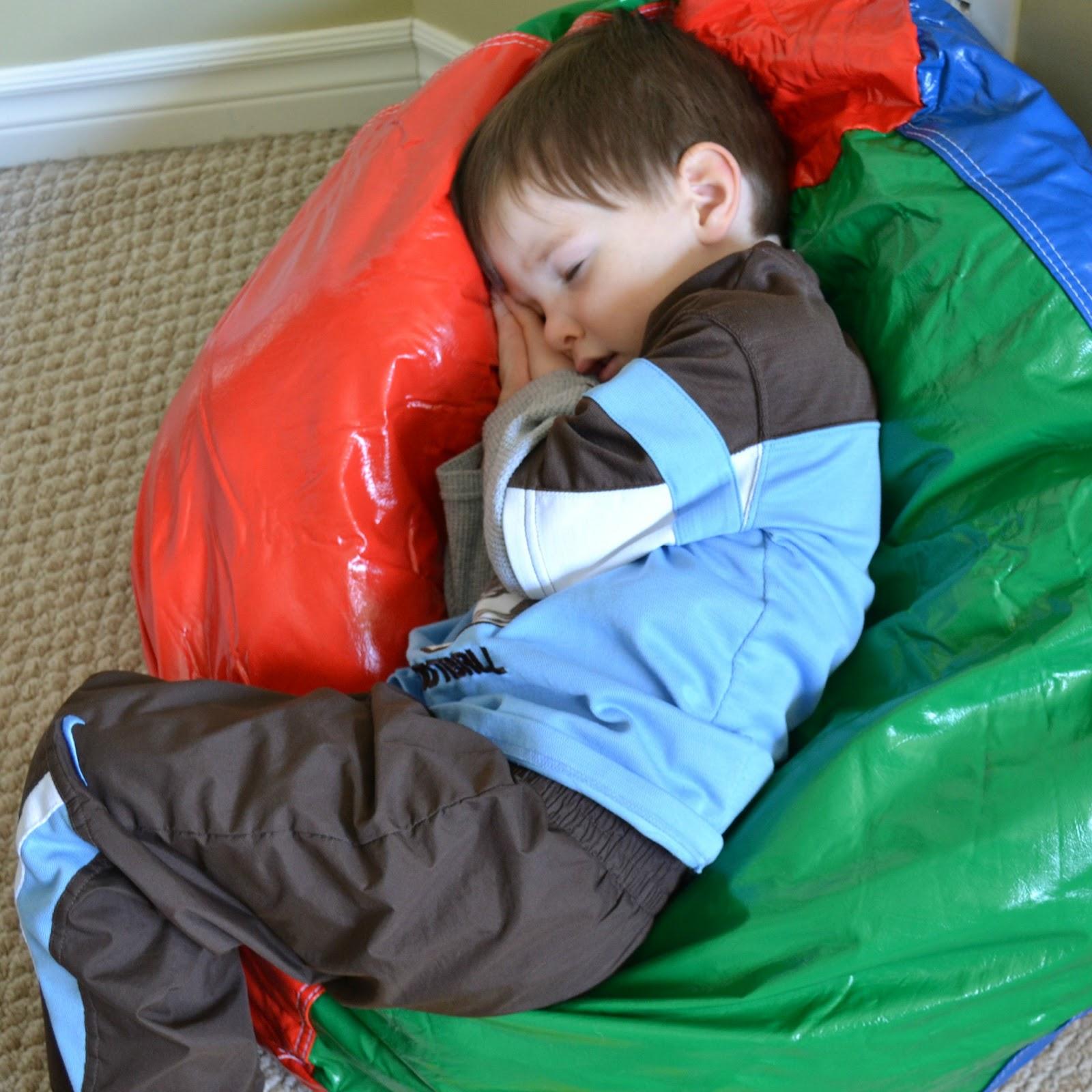 Sleeping On Bean Bag Chair