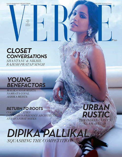 Dipika Pallikal Verve India August 2015