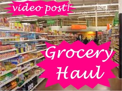 grocery haul video