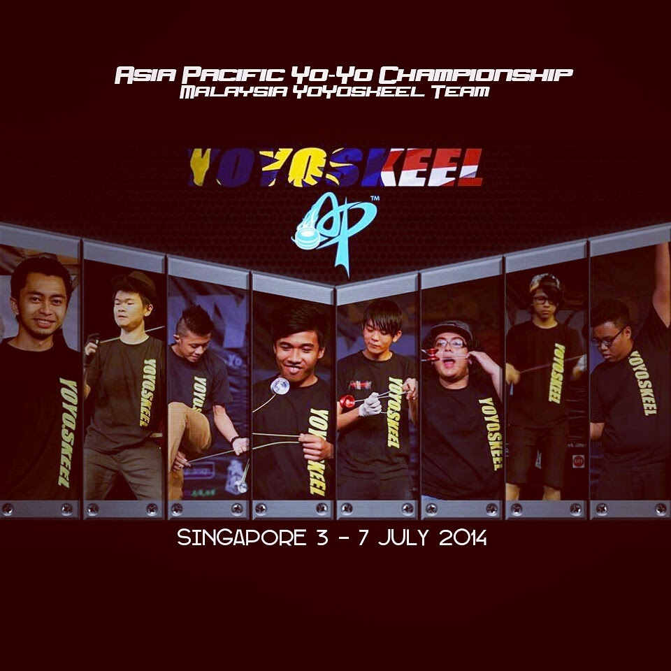 YOYOSKEEL TEAM MALAYSIA GOING TO AP 2014