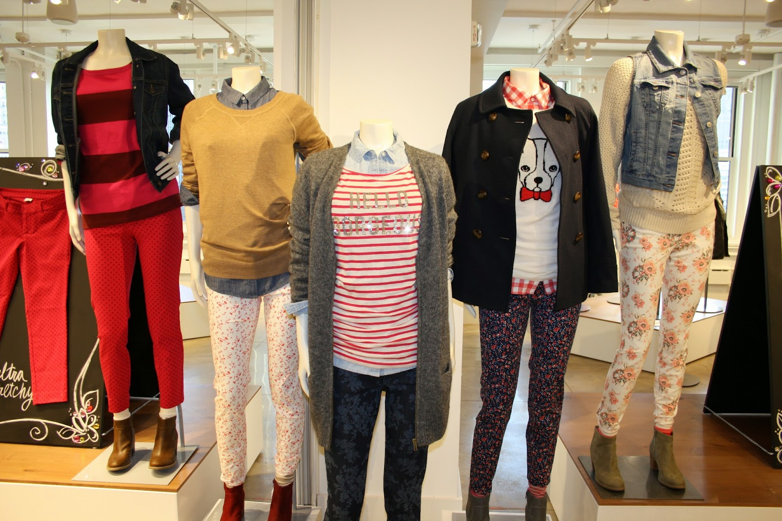 Old Navy Fall 2013  Preview