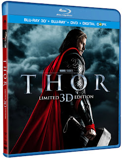 Thor 3D Blu-ray cover