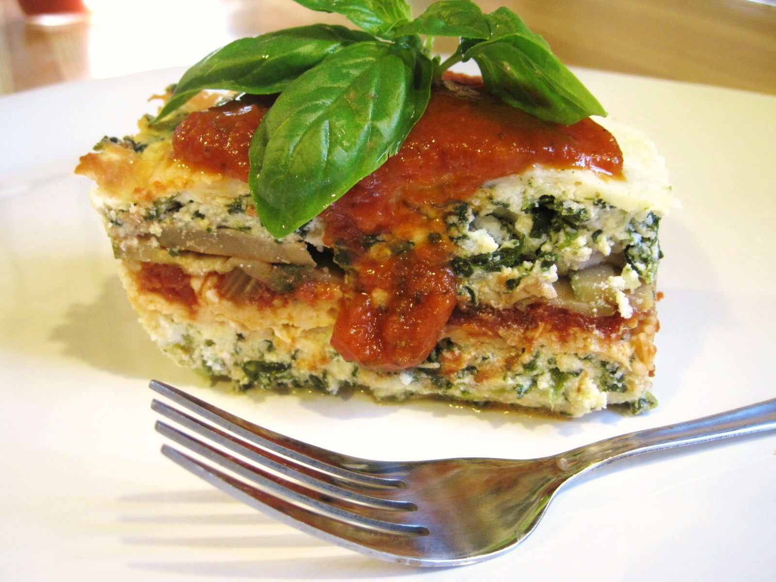 Nickel's Worth of News: Very Veggie Lasagna