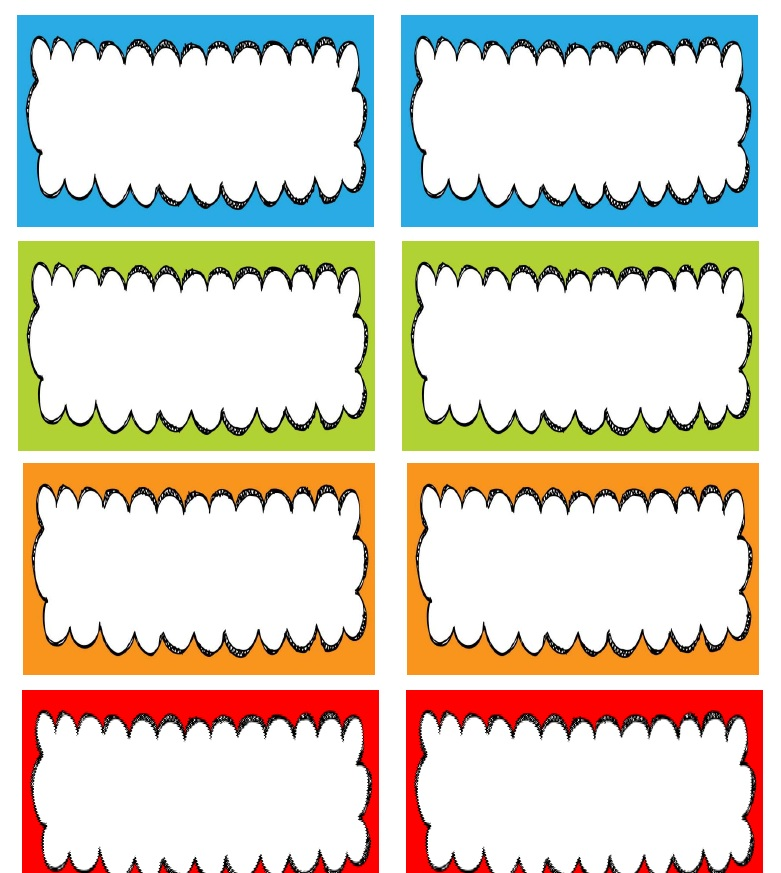 preschool name tag templates learning and teaching with preschoolers name tag station