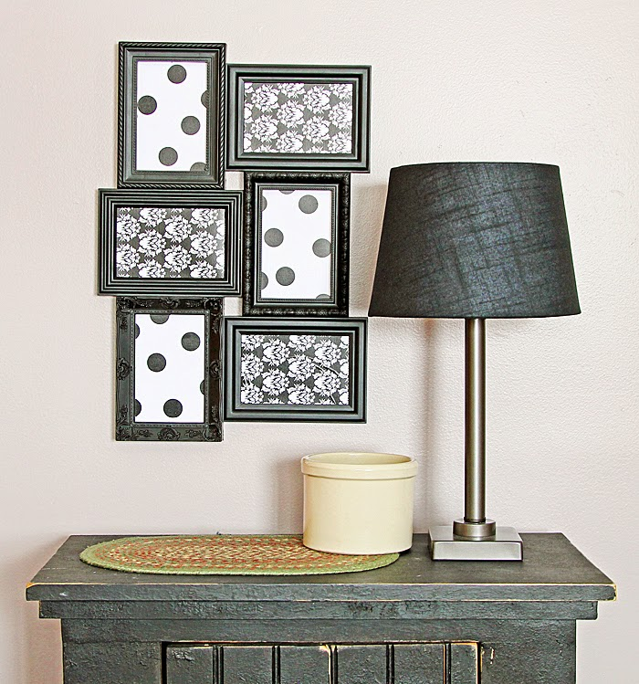 Trendy Wall Art trendy wall art >>> diy decor tape makes it easy | hazel & ruby blog