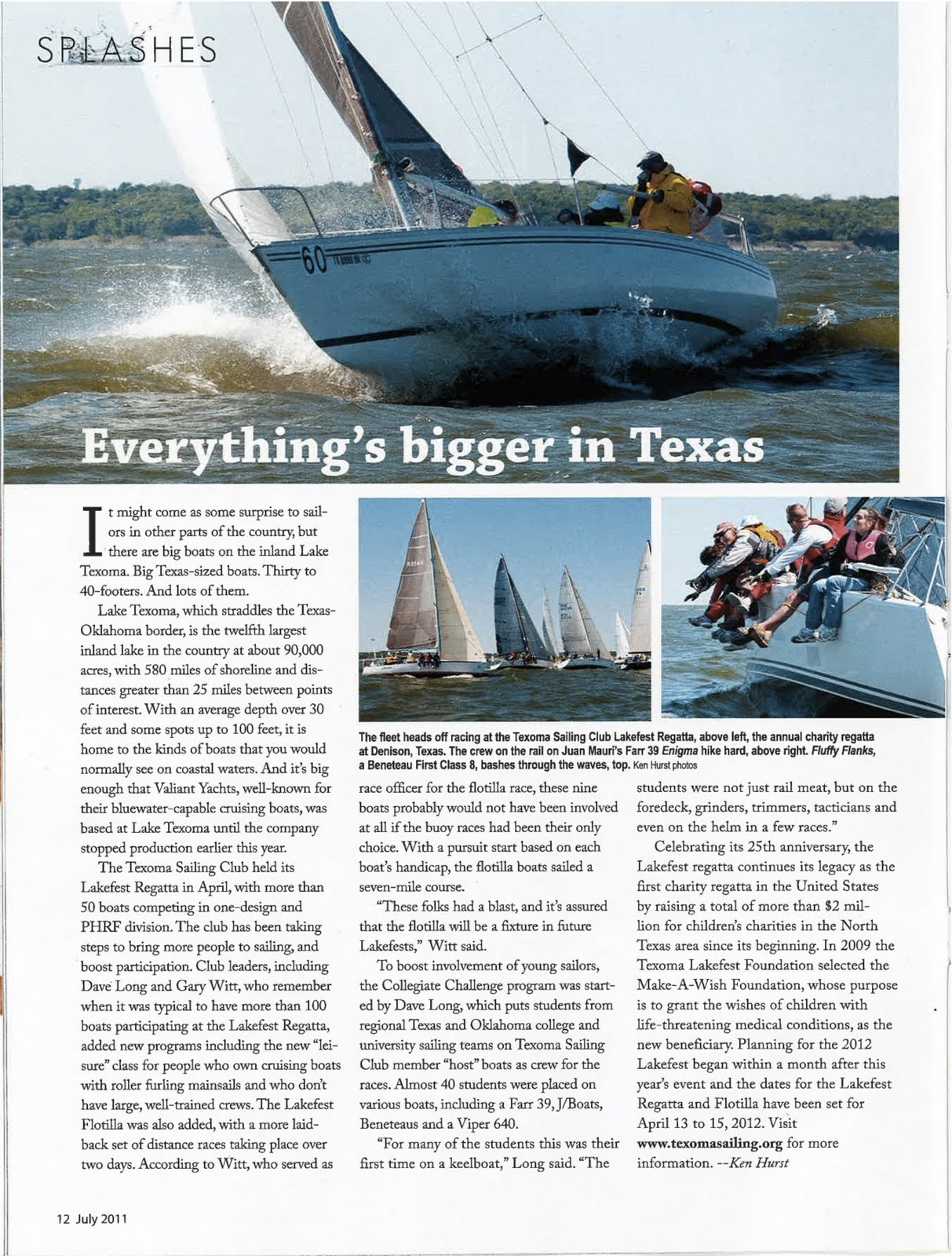 sailing magazine articles