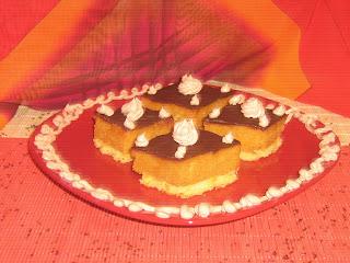 Cake with orange, orange cake