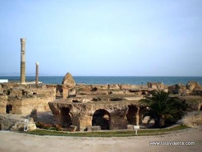 Termas Antonino Cartago, Tunez