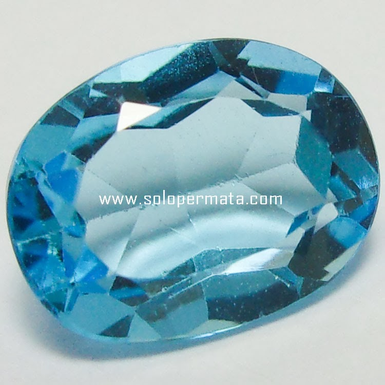 Batu Permata Blue Topaz - 25A06