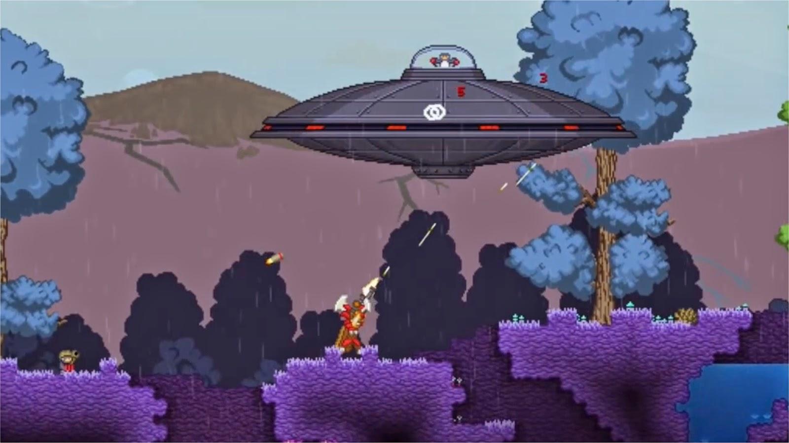 Starbound UFO