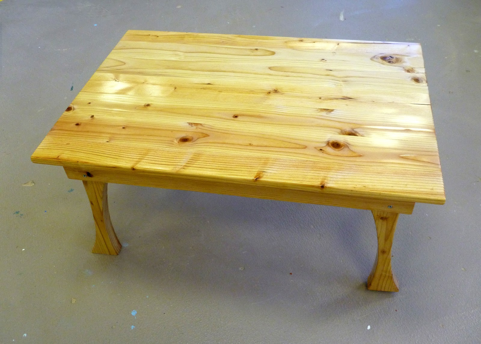 Juneau douglas high school woodworking furniture for Coffee tables 2x4