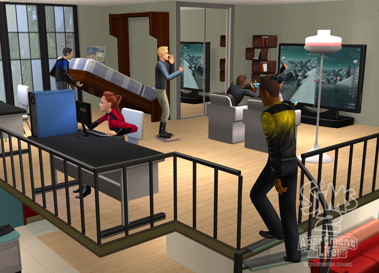 Download     The Sims 2  Apartment Life     PC