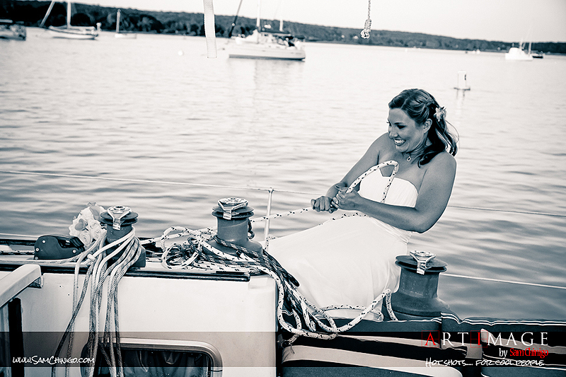 """Essex nautical bride"