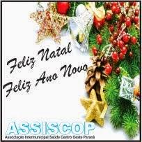 Assiscop deseja a todos um Feliz Natal e um Próspero ano novo!!!