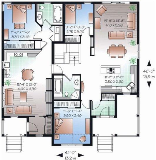 Casas Con Planos Gratis | Planos De Casas Modernas