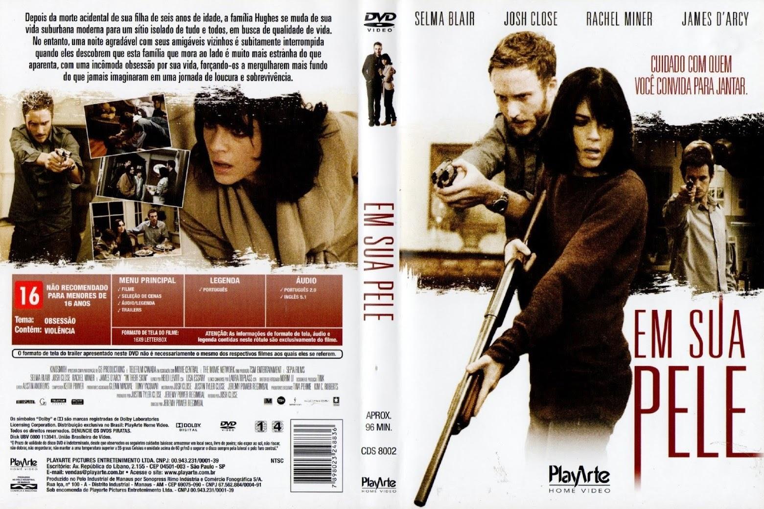 Filme Em Sua Pele DVD Capa