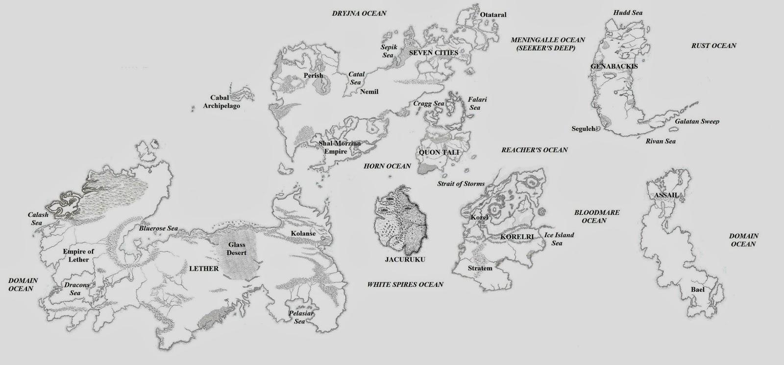 The wertzone updated malazan world map gumiabroncs Choice Image