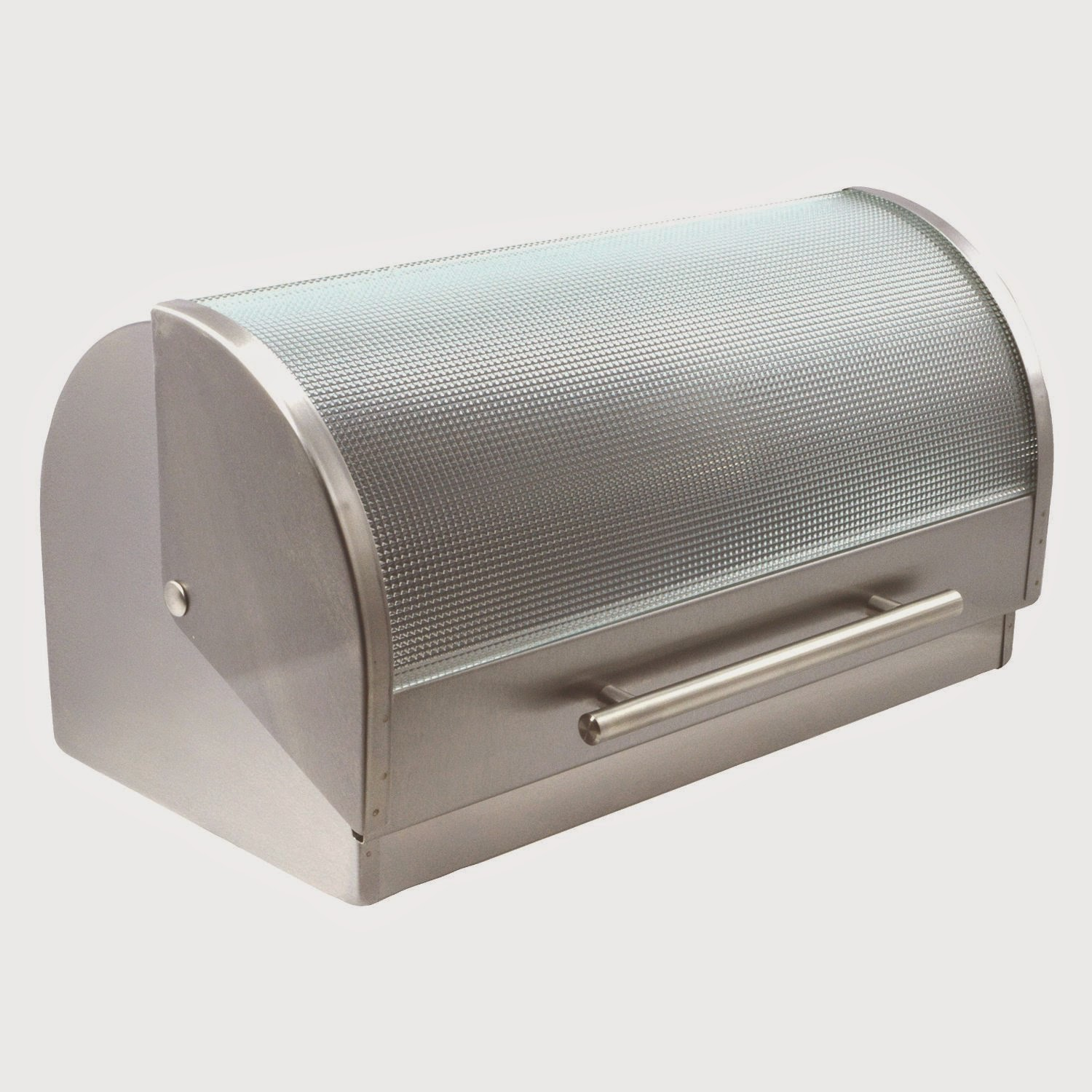 Francois et Mimi Stainless Steel Bread Box