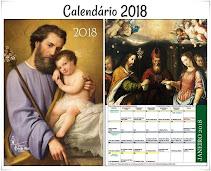 Adquira seu Exclusivo Calendário Tridentino 2018! Edição Limitada!