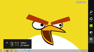 Thema Angry Birds Windows 8