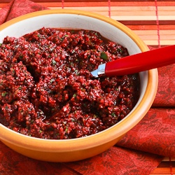 Kalyn's Kitchen®: Trina's Low-Sugar Fresh Cranberry Salsa ...