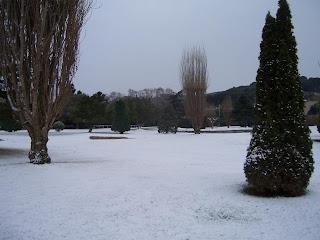 Pitch and Putt Sant Cebrià nevat