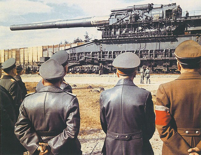 Ultimate Collection Of Rare Historical Photos. A Big Piece Of History (200 Pictures) - Schwerer Gustav