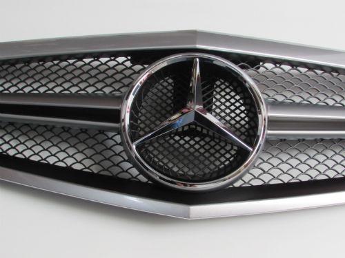 grill mercedes benz w212 2009 2012 pre facelift silver. Black Bedroom Furniture Sets. Home Design Ideas