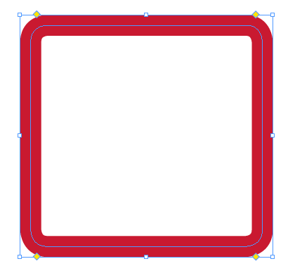 pin red rounded rectangle - photo #48